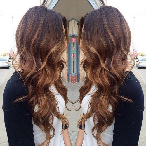 Hair color ideas for brunettes