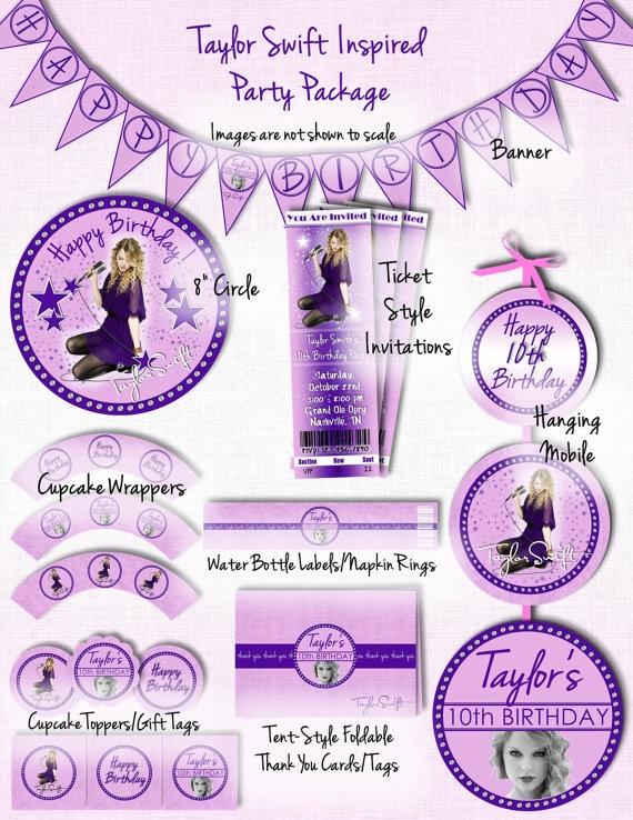 Best 18 Taylor Swift Birthday Party ideas on Pinterest Taylor