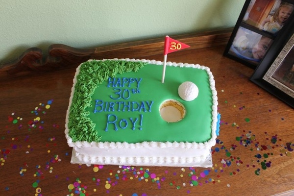 Golf Theme Birthday Party en Pinterest  Tortas temáticas de golf ...
