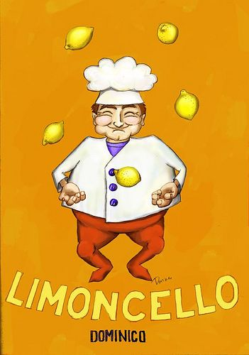 ideas for gift tags for my batch of Limoncello