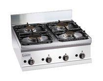 Table de cuisson à gaz / professionnelle / autoportante