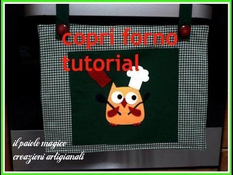 copri forno tutorial - YouTube