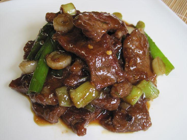 Dukan Diet Recipe:  Mongolian Beef