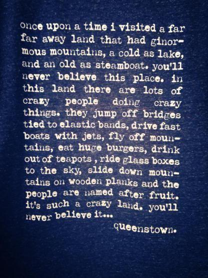 queenstown quote