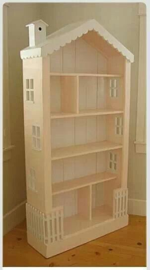 Doll house from book shelf. Furniture Revamping
