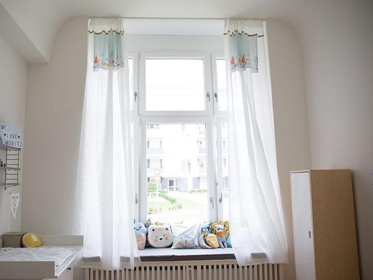 Die besten 25+ Vorhänge für kinderzimmer Ideen auf Pinterest - dachschrge vorhang
