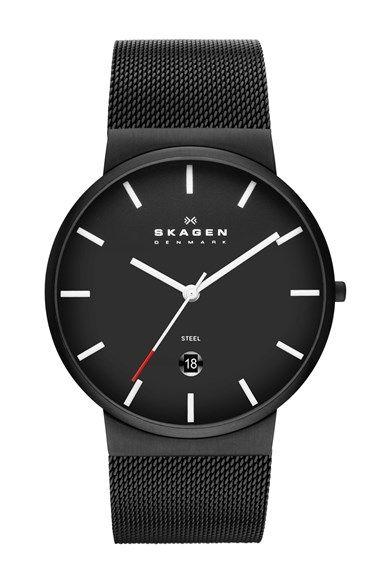 Skagen Round Mesh Strap Watch, 39mm. available at #Nordstrom
