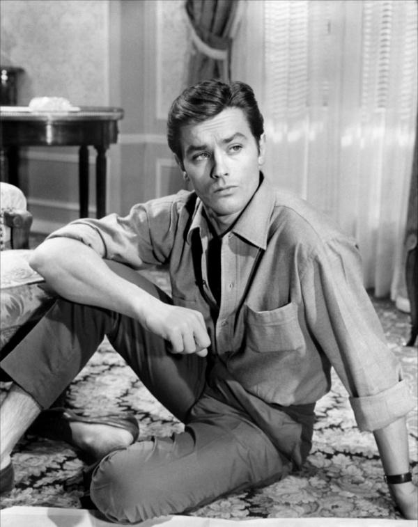 Alain Delon, French-Swiss actor, b. 1935