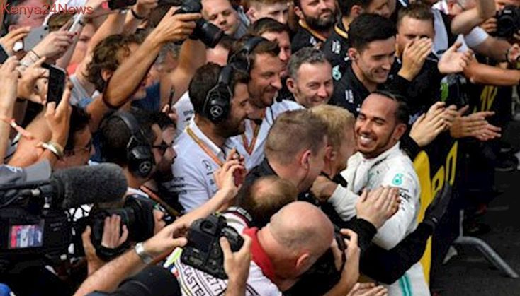 Imperious Hamilton extends his championship lead at Le