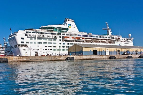 """A British couple say they were """"treated like dogs"""" when a vomiting bug broke out while they were on a cruise holiday.  Shaun and Elizabeth S..."""