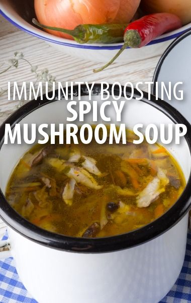 Does winter have you down for the count? Daphne Oz of The Chew shared her Spicy Mushroom & Noodle Soup Recipe to boost your immunities and warm you up. http://www.recapo.com/the-chew/the-chew-recipes/chew-fix-food-spicy-mushroom-noodle-soup-recipe/
