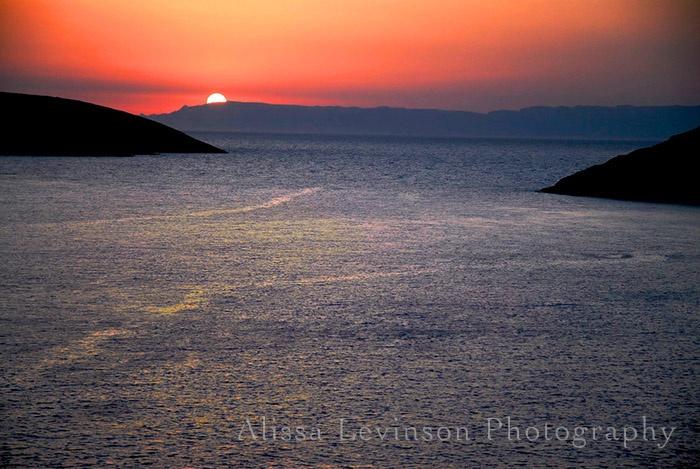 Sunset - Greece