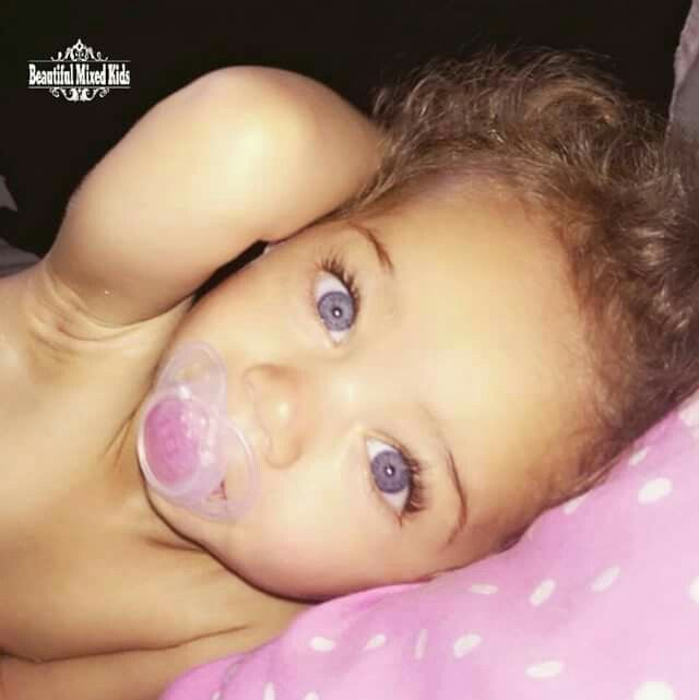 Ella-Mae - 19 Months • Mom: Caucasian British • Dad: Barbadian British ❤