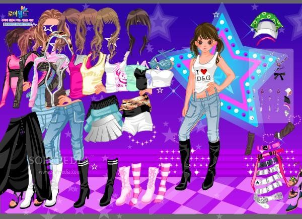 Free dress up games for people who love fashion