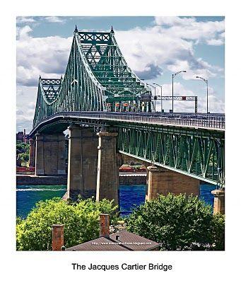 Pont Jaque-Cartier de Montréal