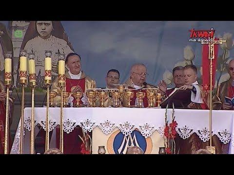 Uroczystość koronacji figury Matki Bożej Fatimskiej w Tarnowie