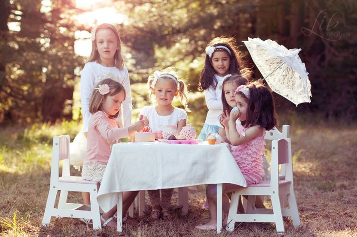 Vintage Doll tea party by Lib Creative