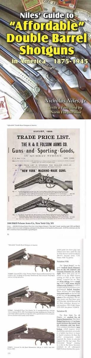 Books and Video 7304: Affordable Vintage Double Barrel Shotguns 1875-1945 Collector Ref Id Guide -> BUY IT NOW ONLY: $62.95 on eBay!
