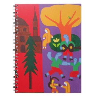 Outside the Mosque 2003 Spiral Notebooks