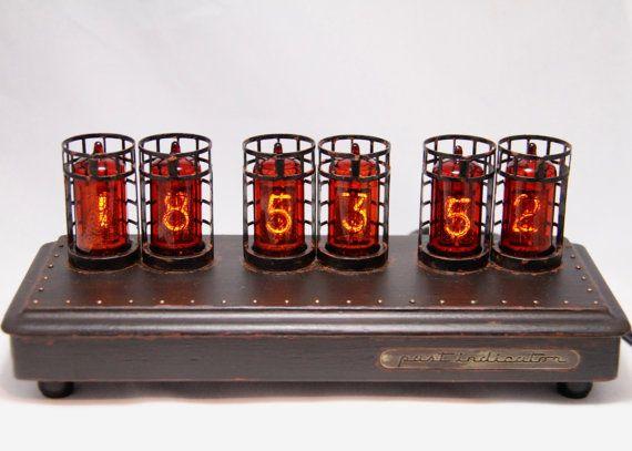 IN-14+reloj+de+tubo+Nixie+en+caso+de+haya+con+por+PastIndicator