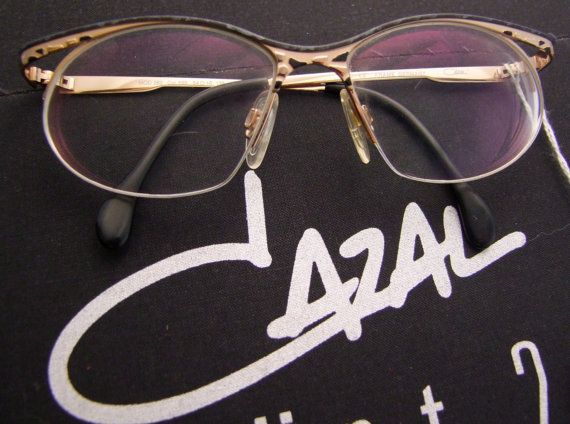 RARE 282 CAZAL Sunglasses 1980s  Germany col 599 by ifoundgallery, $200.00