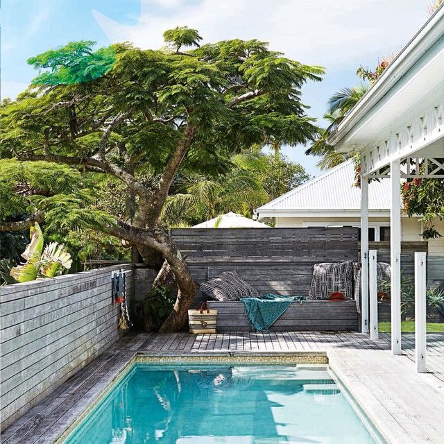 Stunning pool + deck | The Atlantic, Byron Bay
