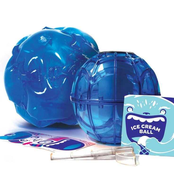 (37) Fab.com | Ice Cream Ball & Cover Pint Blu