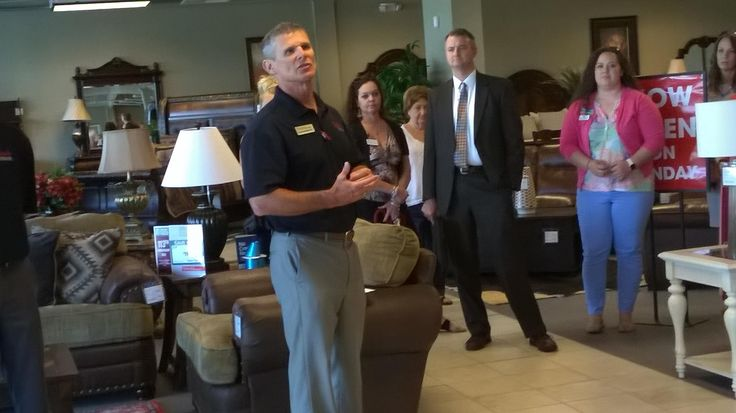 Badcock Home Furniture & More celebrated its entry into the Spartanburg market with a grand opening ceremony Tuesday morning. Located at 400 W.