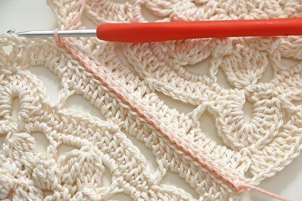 Join method crochet