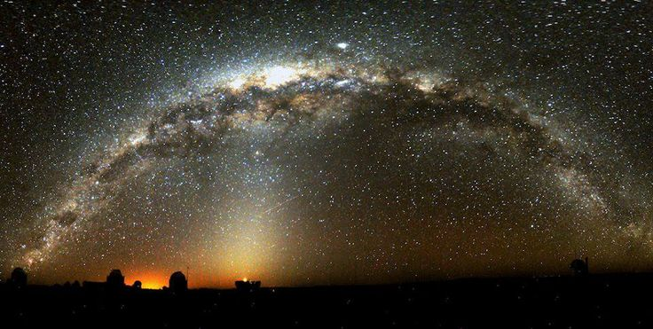The Milky Way over Sutherland, South Africa taken by Stephen Potter who is head of Astronomy at SAAO