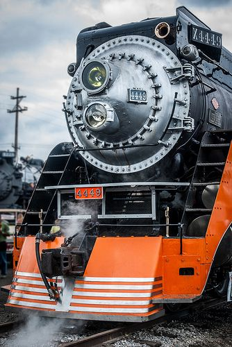 Southern Pacific Daylight 4449, built by Lima, is Queen of the American West among steam locomotives.  Her American eastern counterpart is Norfolk and Western J-Class N° 611. Both locomotives are 4-8-4 Northern-types.