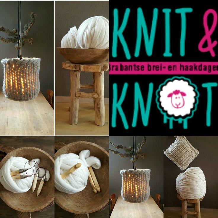 Keigoed vilten op de beurs knit&knot. 18,19,20 maart 2016