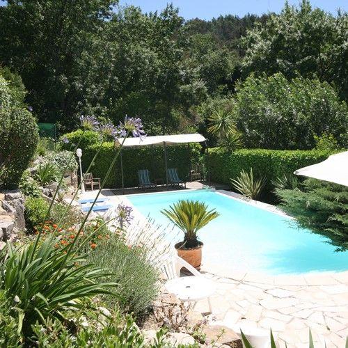 Maison Bleue Mandelieu Villa Rental Garden Pool