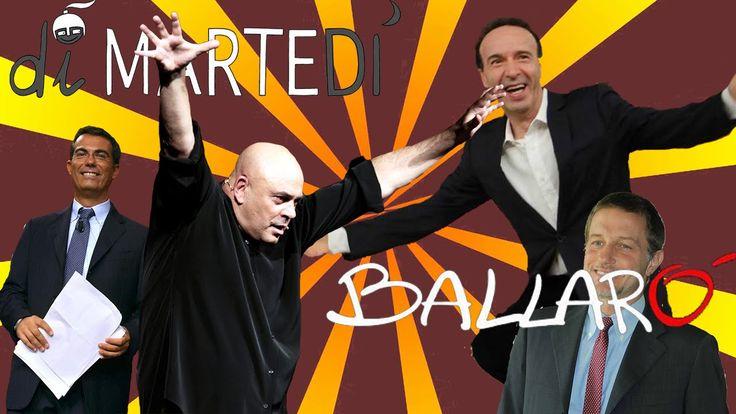 Benigni Vs Crozza Ballarò DiMartedì - Video