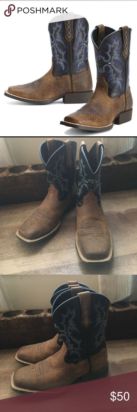 Artist Youth Tombstone Boots Excellent used condition beautiful boots size 3 youth Ariat Shoes Boots