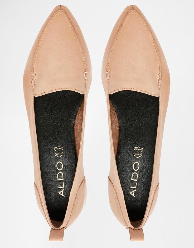 ALDO Bazovica Nude Flat Ballerina Shoes