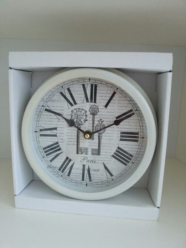 Vintage Clock. Ready stock.