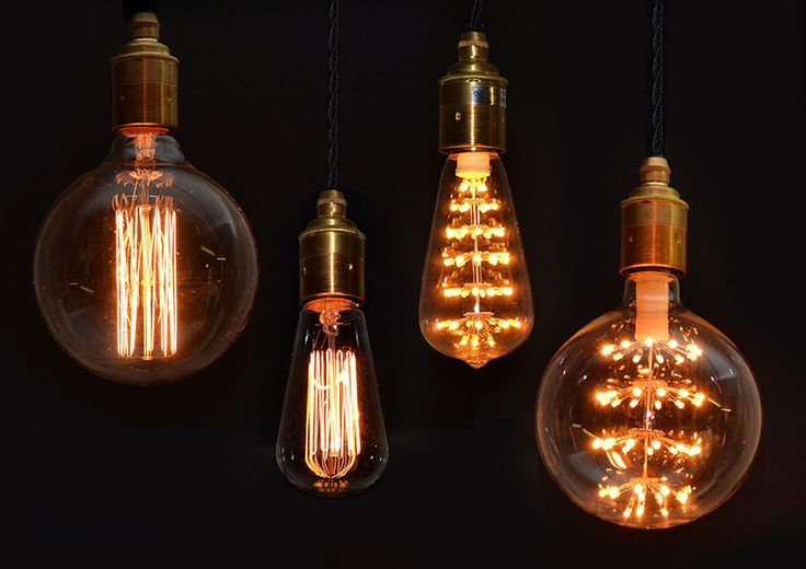 Decorative bulbs for all occasions - Lighting Accessories, Copper & Silk