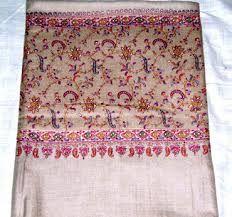 Sozni Hand Stiched Cashmere shawl.