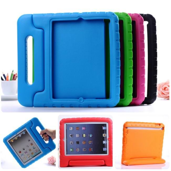 Multi Function Child / Shock Proof Kids Cover Case with Stand /Handle for  Apple iPad2 3 4th Tablet