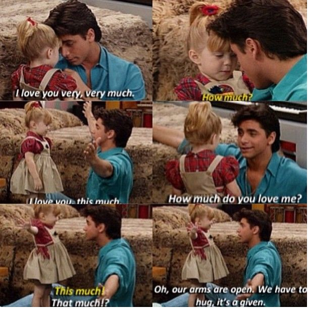 Full House - Quotes #fullhouse #fullhousetvquotes Love uncle Jesse! Always the handsome sweet one! Lol