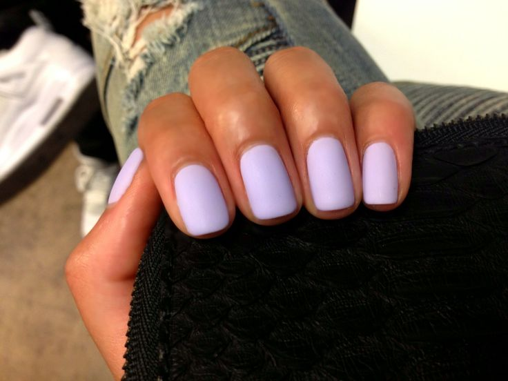 Matte Pastel Purple nail polish | nailed it | Pinterest ...