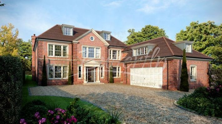 New Build Uk Wentworth Woodberry House 3 950 000 A South Facing 5 Bedroom Mansion With Staff Accommodation Located On The Esta