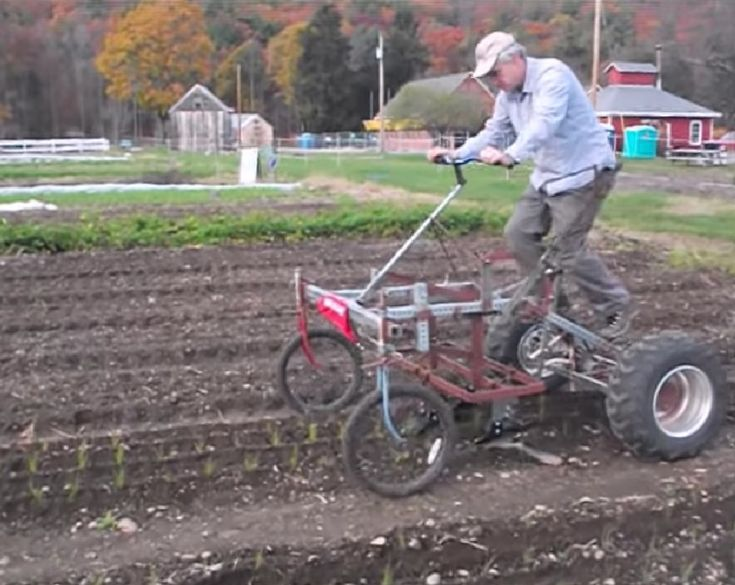 Pedal Powered Tractor For Your Homestead