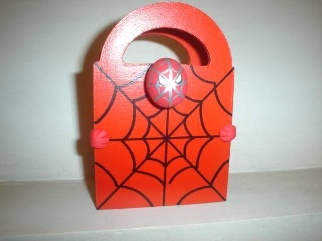 Souvenirs del hombre araña manualidades - Imagui