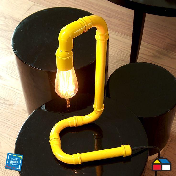 ¿Cómo hacer una lámpara con tubos de PVC? #HagaloUstedMismo #Iluminacion
