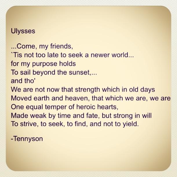 Tennyson Ulysses Quotes. QuotesGram