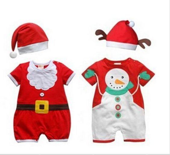 Natal: idéia de roupas para bebês e crianças