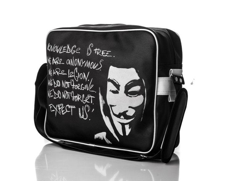 Młodzieżowa torba na ramię Solier Anonymous w Mironti.pl