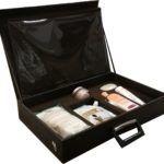 valigetta campionario per prodotti cura del corpo interno